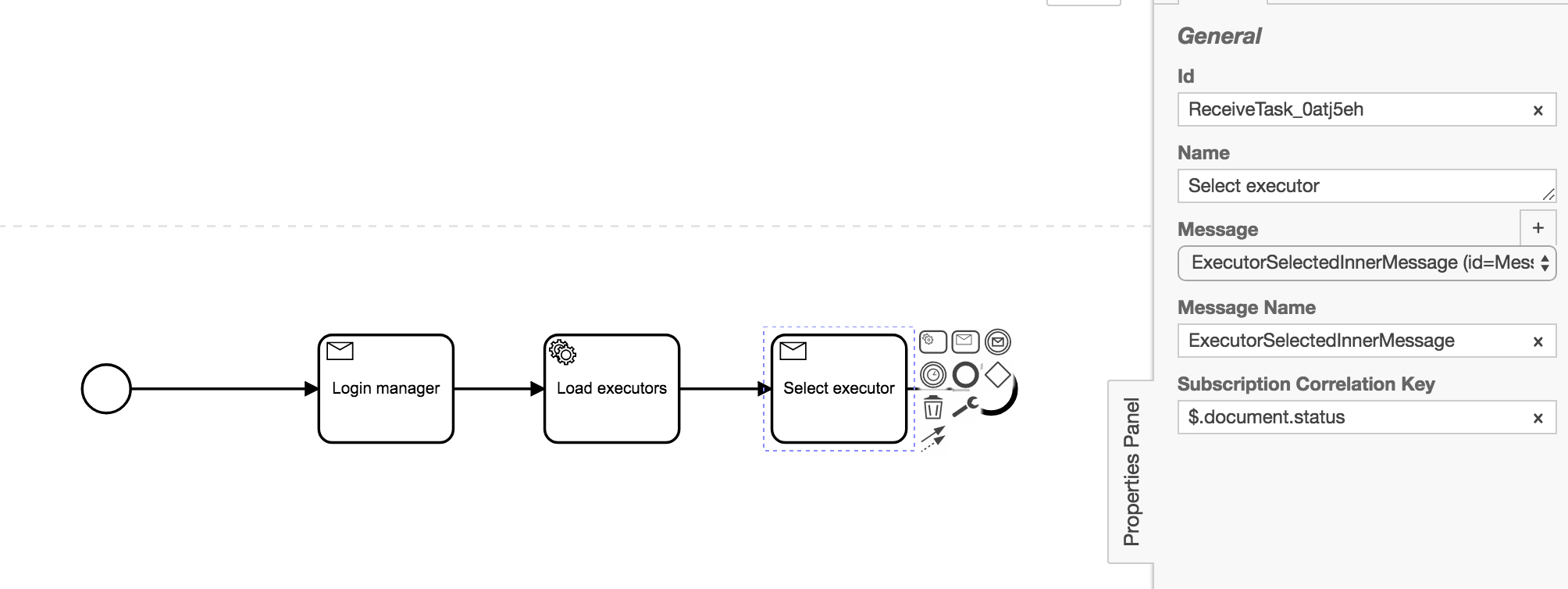 Message didn't delete from XML [Zeebe Modeler] - Modeling in